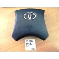 Подушка безопасности водителя Б/У 4513033480B0