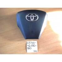 Подушка безопасности водителя Б/У 4513042180B0