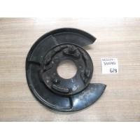 Кожух тормозного диска задний левый Б/У 4650433090