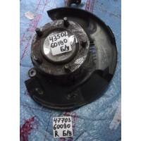 Кожух тормозного диска передний правый Б/У 4770360090