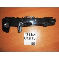 Кронштейн переднего бампера Lh Б/У 521160K070