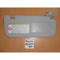 Козырек солнцезащитный правый Б/У Corolla 150 7431012A60B0