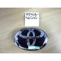 Эмблема Toyota 7540342040