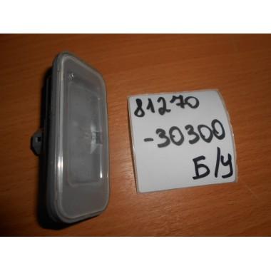 Подсветка номерного знака Б/У 8127030300