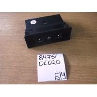 Блок кнопок обогрева сидений Б/У 847510e020
