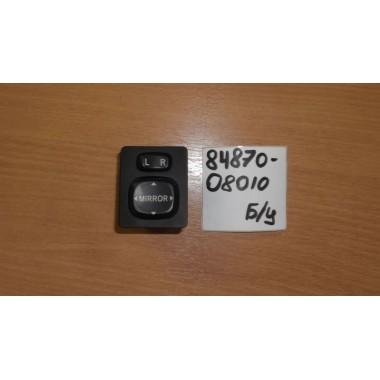 Блок кнопок управления зеркалами Б/У 8487008010
