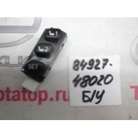 Кнопка памяти сидений Б/У 8492748020