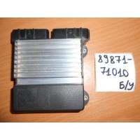 Блок управления топливными форсунками Б/У 8987171010