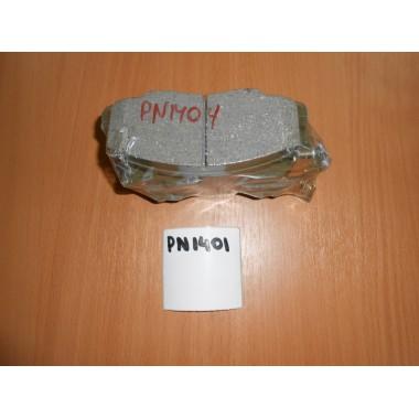 Колодки тормозные передние PN1404